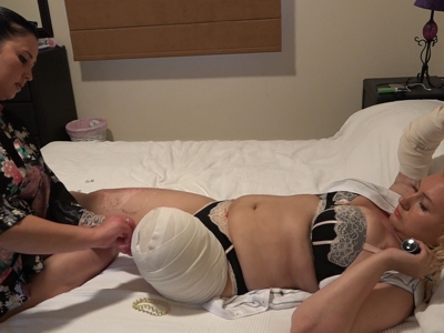 Michelle (&Ksenia) - The Massage 4k